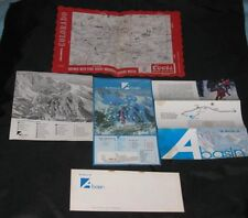 5 Vintage ARAPAHOE A BASIN SKI  Keystone Dillon SUMIMIT Coors Beer skiing Paper