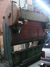 Power Press Folder Pan Brake----Bliss   60 ton  Mechanical Press Folder