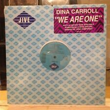 "[EDM]~SEALED 12""~DINA CARROLL~We Are One (Me Sienta Sola)~{x4 Mixes]~[1989~JIVE]"