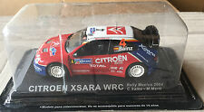 "DIE CAST "" CITROEN XSARA WRC RALLY MEXICO - 2004 "" RALLY DEA SCALA 1/43"