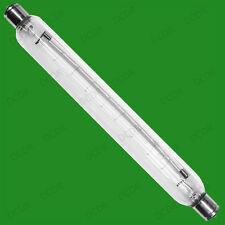 5x 30W 221mm Clear Double Ended Cap Tubular Lamp, S15 Linear Strip Light Bulbs