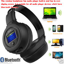 3.0 Stereo Bluetooth Wireless Headset/Headphones With Call Mic/Microphone BK USA