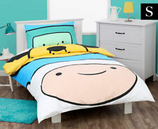 ADVENTURE TIME JAKE FINN SINGLE / US TWIN  bed QUILT DOONA COVER SET NEW