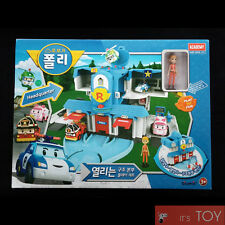 RoboCar Poli Openable Headquarter Convertible Rescue Station Center Play Set