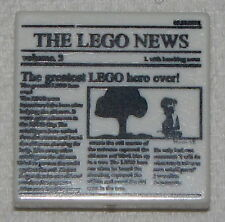 LEGO NEW NEWSPAPER FINANCIAL SECTION CITY 2 X 2 FLAT TILE PART