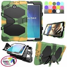 """BOYA for galaxy Tab E 9.6"""" T560 T561 3in1 Hybrid Shockproof Case stand cover"""