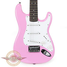 Brand New Fender Squier Mini Stratocaster Electric Guitar in Pink