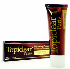 Skin Lightening Fading Whitening Bleaching Cream TOPICLEAR Paris Hydroquinone