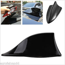 1 Pcs Black Car Roof Shark Fin Shape Antenna Radio Signal Aerial AM/FM Universal