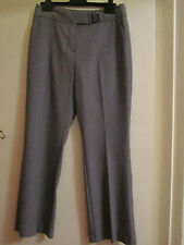 Grey M&S Per Una Smart Chinos / Trousers with Slight Boot Cut Size 10 S - NWOT
