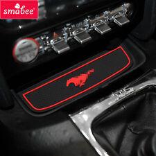 For Ford Mustang 2015-2017 Gate slot mats 12Pcs/Set Non-slip red/blue/white