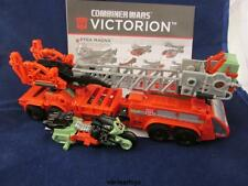 Transformers Combiner Wars Victorion PYRA MAGNA & RUST DUST Only Head & Chest