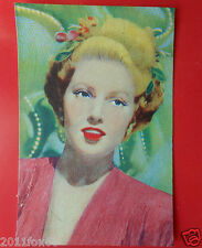 figurines actor cards attori figurine artisti del cinema 182 lana turner lampo j