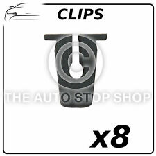 Clips Trim Clips 7 x 7 MM VW Polo 1995/Golf III/IV/Sharan Part 10391 Pack of 8