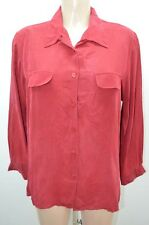 123 / 1 2 3 / 1.2.3  CHEMISIER .  ROUGE TAILLE 44 T44 XXL   SHIRT CAMISA BLUSE B