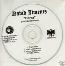 (210V) David Timenez, Barca - DJ CD