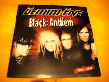Cardsleeve Single cd GEMINI FIVE Black : Anthem 2TR 2006 pop rock