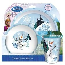 Disney Frozen 'Olaf' Tbp Dinner Set Brand New Gift
