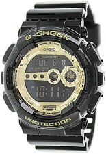 Casio Men's G-Shock GD100GB-1 Gold Resin Quartz Watch