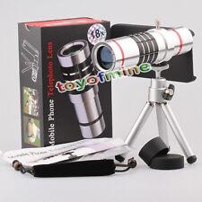 18xOptical Telescopio Lente de la cámara w / cubierta para el iPhone 5 de 5S SE
