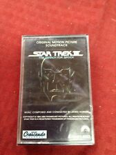 Star Trek III The Search For Spock Soundtrack USA Cassette Tape