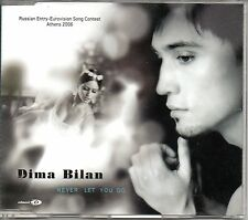 ☆ MAXI CD Eurovision 2006 Russie : Dima Bilan Never let you go 5-track Jewel  ☆