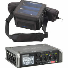 Zoom F4 Multitrack Field Recorder with Timecode & Protective Case