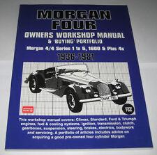 Reparaturanleitung Morgan Four 4/4 Series 1 - 5, 1600 & Plus 4 S, Bj. 1936-1981
