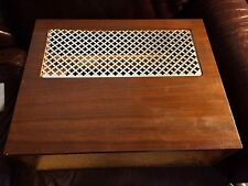 Vintage Fisher Wood Case w/ Feet for 400, 500, 800 series