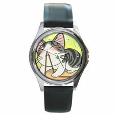 Anime Chi's Sweet Home adorable cat leather watch