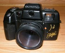 Vintage Olympia Big Royal View Black 35mm Film Camera Only **READ**