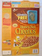 Cereal Box 2000 Honey Nut Cheerios DINOSAUR Chomping Magnet ALADAR 20 oz