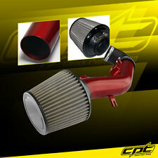 08-10 Pontiac G6 2.4L With Air Pump Red Cold Air Intake + Stainless Filter