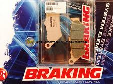 HONDA NX DOMINATOR 650 2001 01 PASTIGLIE ANTERIORE SINTERIZZATE FRENO BRAKING CM