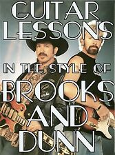 Guitar Lessons The Style Of Brooks & Dunn DVD Country! Boot Scootin' Boogie MORE