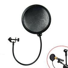 Double Layer Studio Recording Microphone Mic Wind Screen Mask Pop Filter Shield