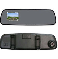 "2.4"" HD Car Rearview mirror Camera Dash Cam IR DVR CCTV Night Vision Recorder"