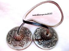 "Tibetan Tingsha Meditation Bells Cymbals 2.3"" Medium with Dragon TINGSHA BELLS"