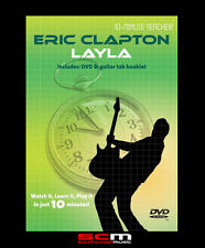 10-MINUTE TEACHER ERIC CLAPTON LAYLA GUITAR DVD TUTORIAL MUSIC LEARN TO PLAY