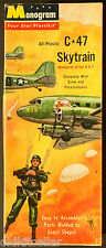 Monogram FOUR STAR Kit P11-98, C-47 SKYTRAIN, US ARMY AIRBORNE SPECIAL FORCES