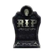 "15"" LED Graveyard Tombstone with Bluetooth Speaker - Halloween Yard Decor Spooky"