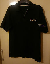 CARLSBERG GREEN POLO SHIRT SIZE L LARGE VGC PROBABLY THE BEST LAGER IN THE WORLD