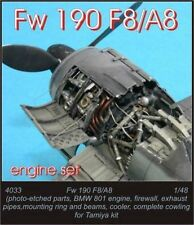 CMK 1:48 Fw 190A8 Engine Set For Tamiya - Resin Kit- #4033