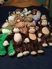 Build A Bear BAB lot  20 Plush, Dogs, Cats, Bunnies, Monkey And Frog Classroom
