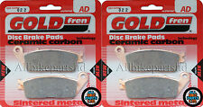 Triumph 900 Thunderbird Front Sintered Brake Pads 1995 Onwards - Goldfren