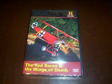 RED BARON World War One Germany Air WWI Ace Pilots Fokker History Channel DVD