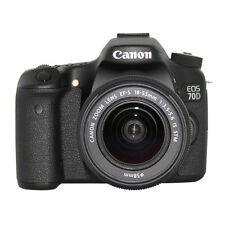 Canon EOS 70D DSLR Camera w/18-55mm Lens