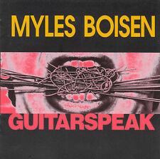MYLES BOISEN Guitarspeak 1985-93 CD FRED FRITH RALPH CARNEY SPLATTER TRIO MX-80