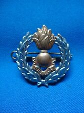SOUTH AFRICA AFRICAN MILITARY ARTELLERY CAP BADGE 40mm