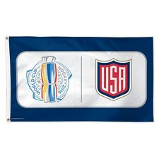 TEAM USA WORLD CUP OF HOCKEY 2016 TORONTO 3'X5' DELUXE FLAG BRAND NEW WINCRAFT